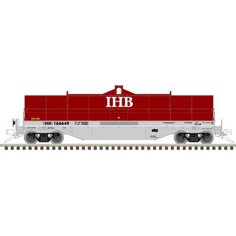Indiana Harbor Belt (exNS) 166601 (Red/Gray)