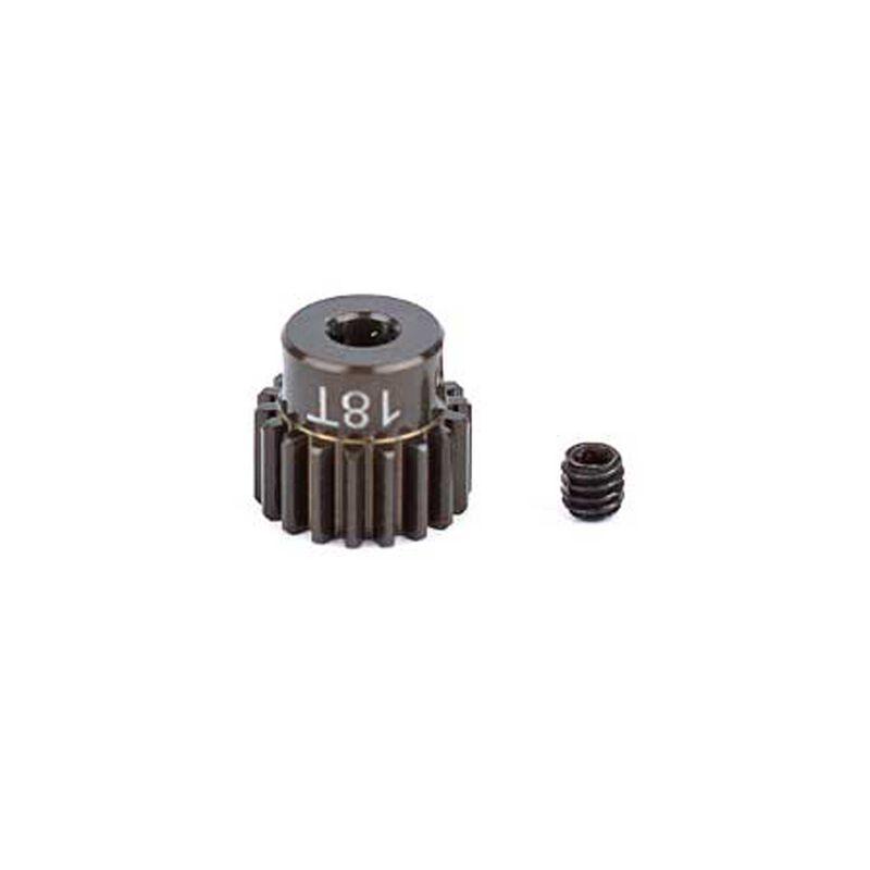 Factory Team Aluminum Pinion Gear, 18T, 48P, 1/8 shaft
