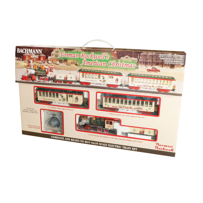 On30 Norman Rockwell American Christmas Train Set