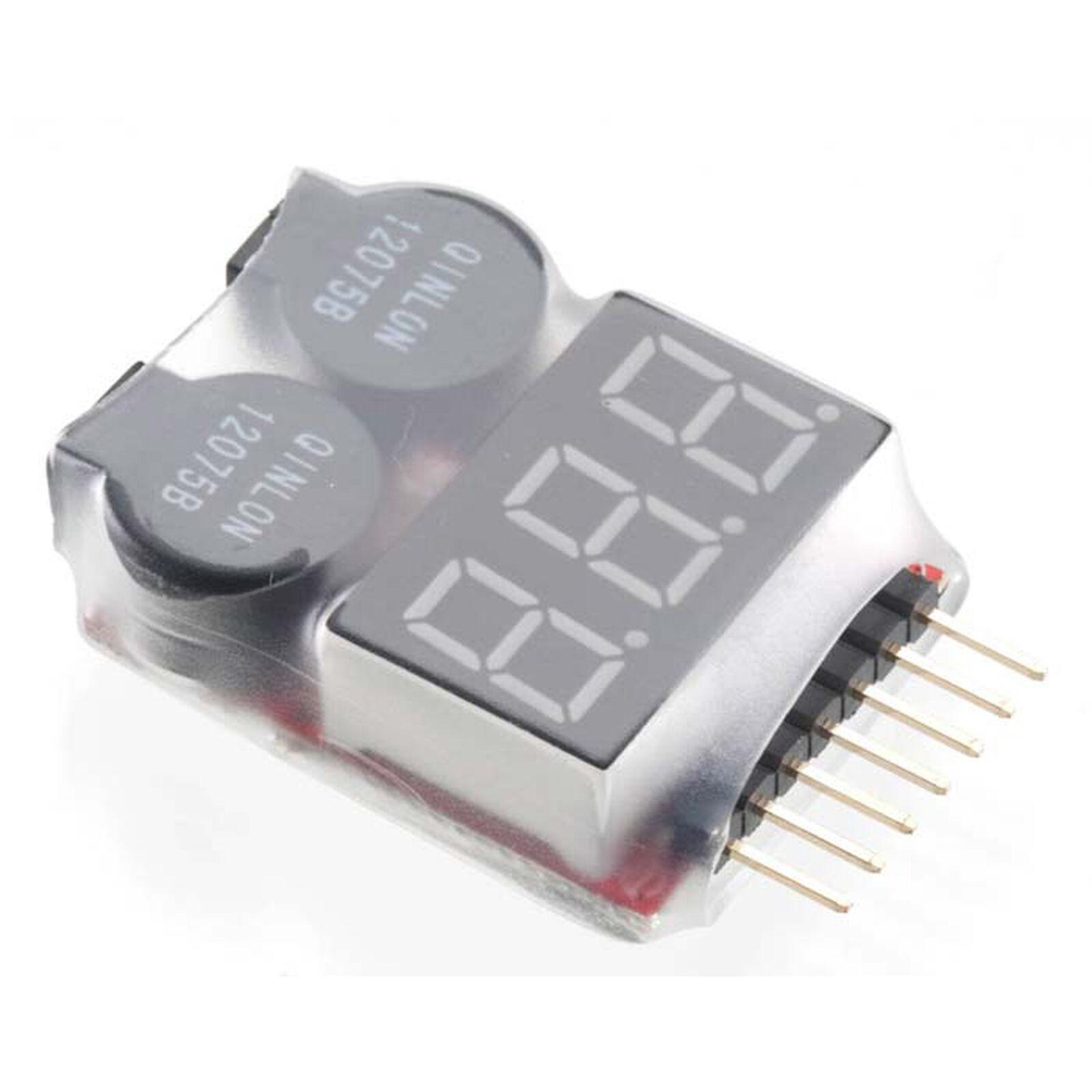 LiPo Voltage Checker/Warning Alarm