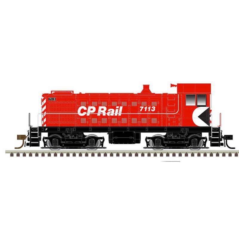 N S-4 Loco CP Rail 7117