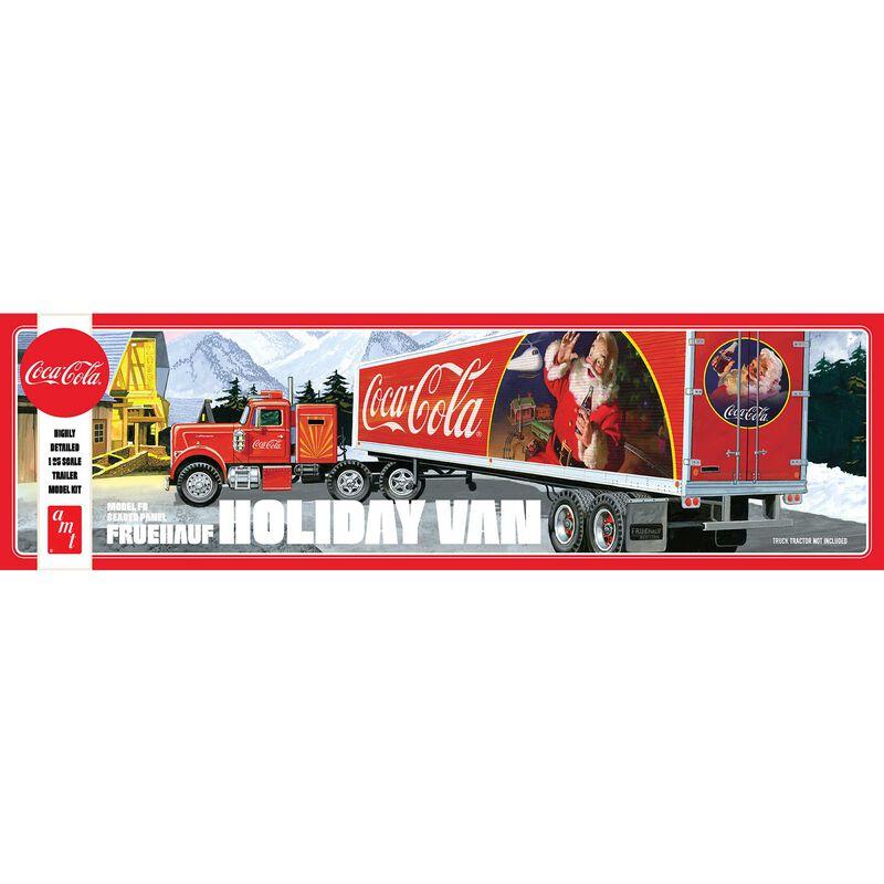 1/25 Fruehauf Holiday Hauler Semi Trailer, Coca-Cola