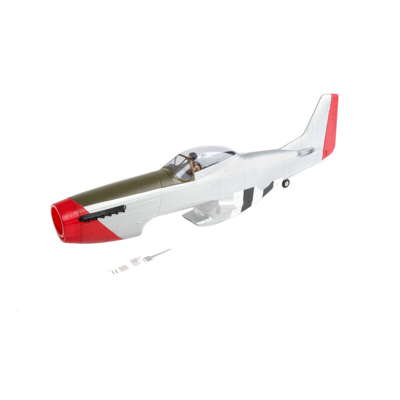 Painted Fuselage with Hatch: P-51D 1.2m