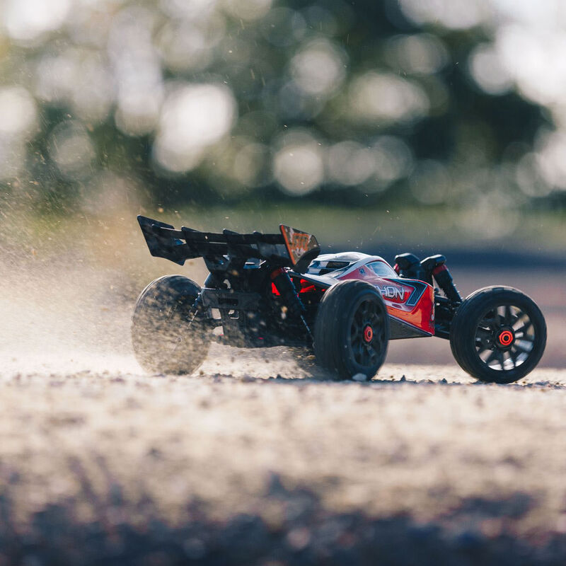 1/8 TYPHON 3S BLX 4WD Brushless Buggy with Spektrum RTR, Red