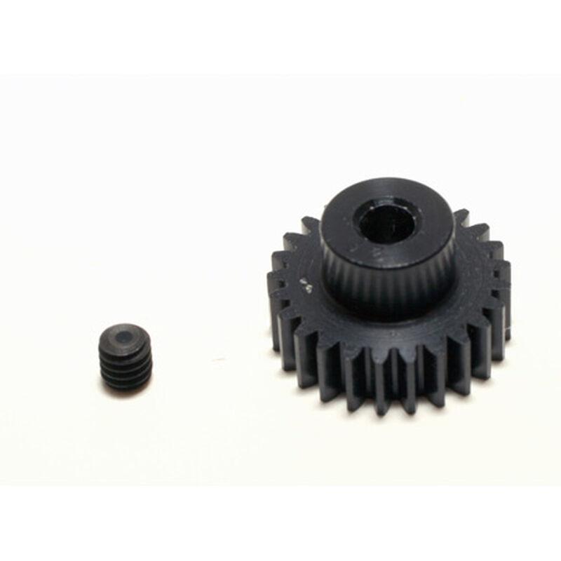 48P Hard Coated Aluminum Pinion Gear, 25T