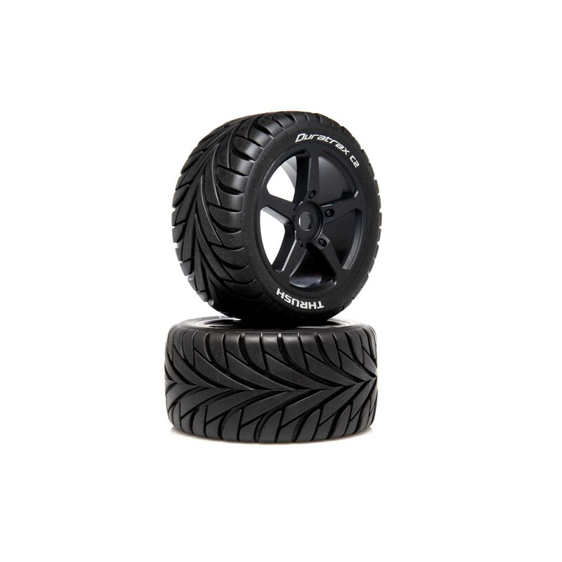1/8 THRUSH Truggy Tire C2 Mounted 0 Offset (2)