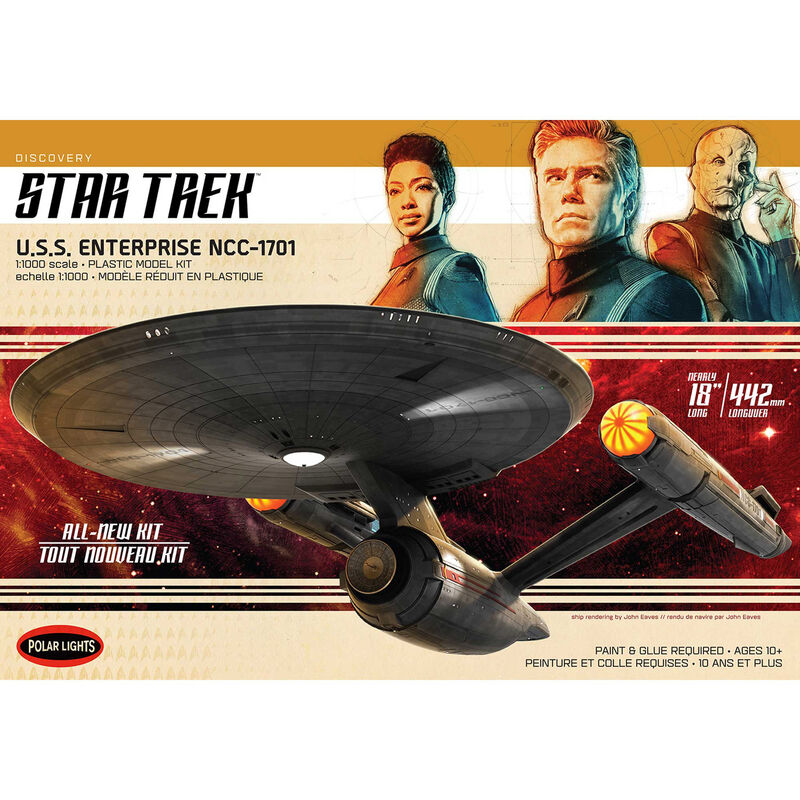 1/1000 Star Trek Discovery U.S.S. Enterprise
