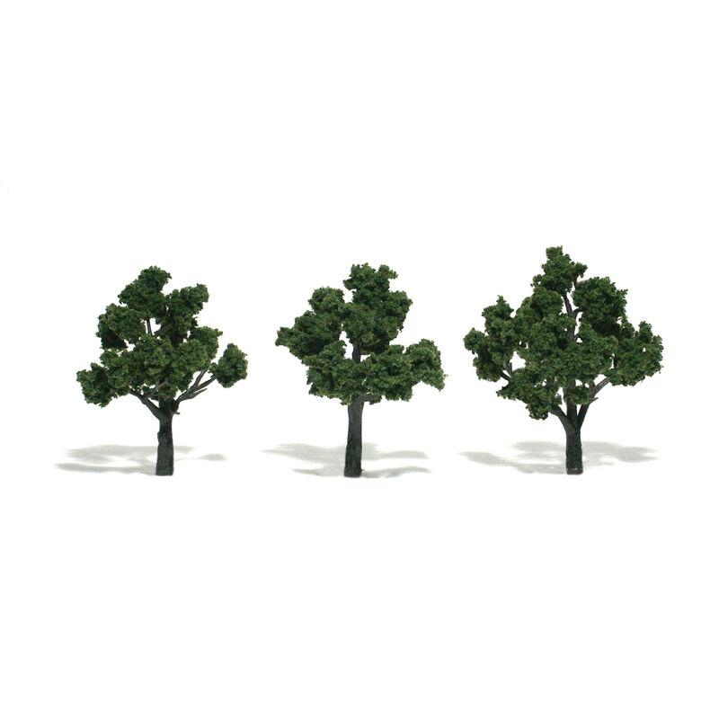 """Ready-Made Tree, Medium Green 3-4"""" (3)"""