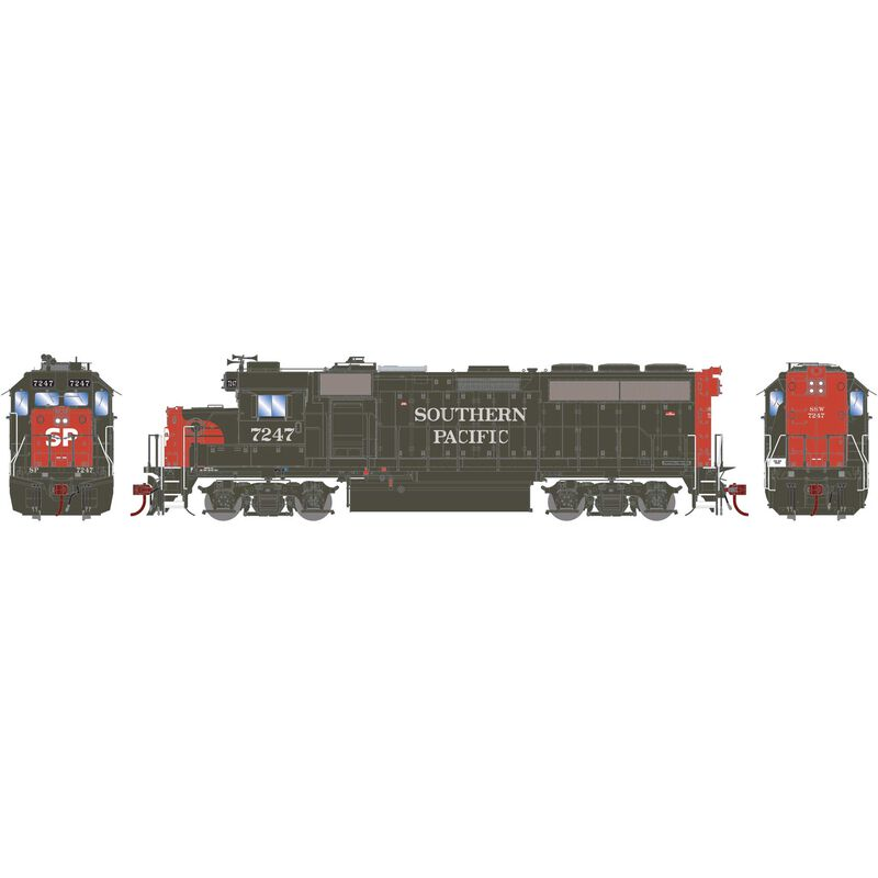HO GP40-2 with DCC & Sound SP #7247
