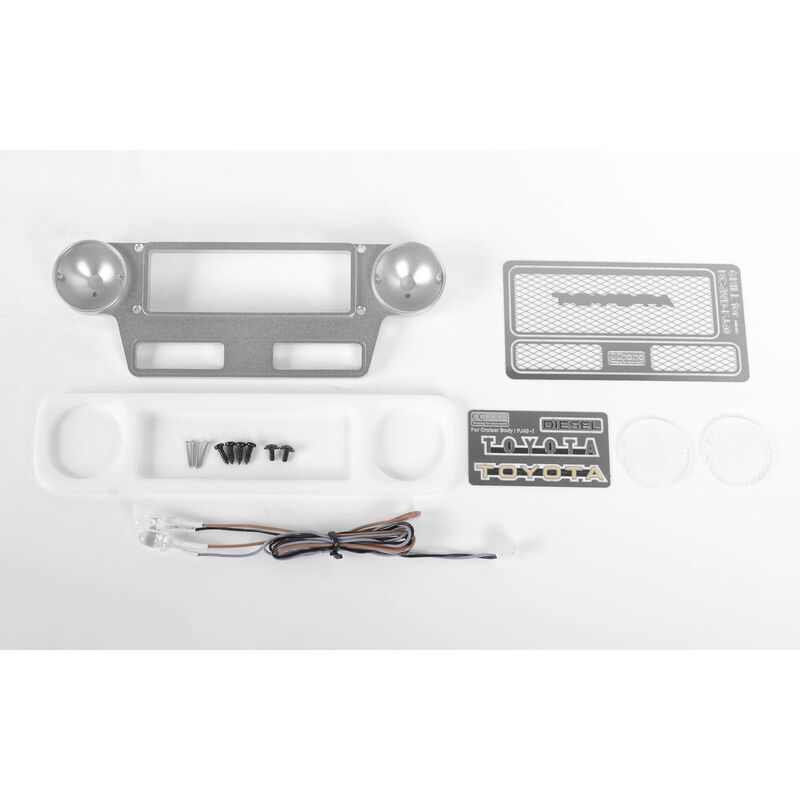 Optional Grille Set with LED: Cruiser Body