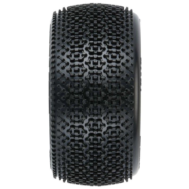 """Hexon 2.2"""" Z4 Carpet Buggy Rear Tires (2)"""