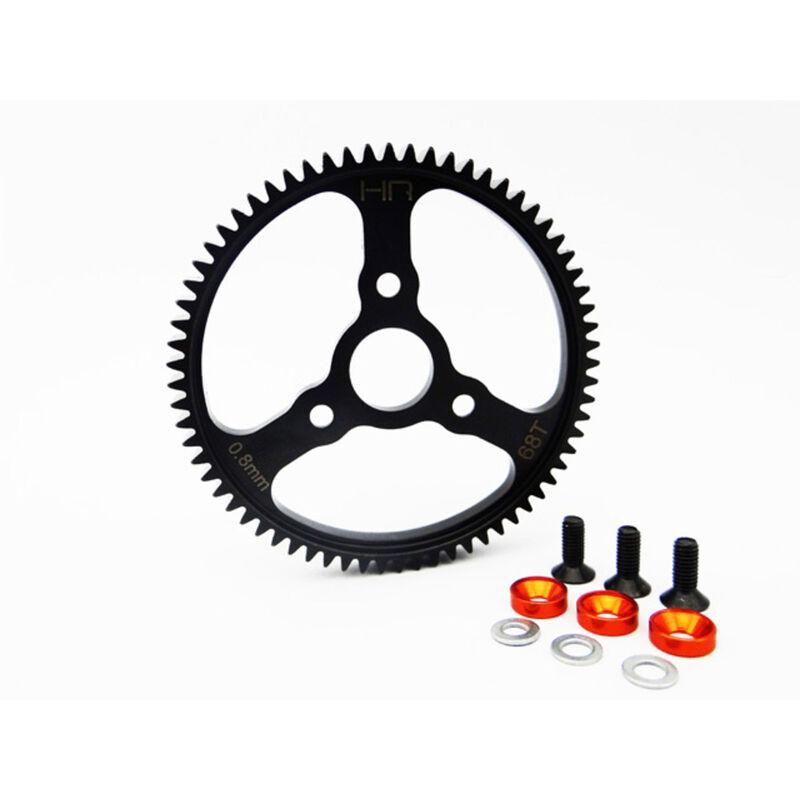 Steel Spur Gear 68T 0.8 Mod Orange: Traxxas