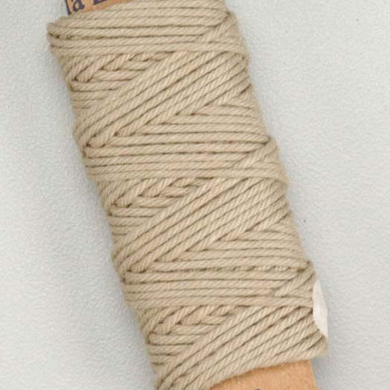 Cotton Thread .75mm Beige 10 Meter