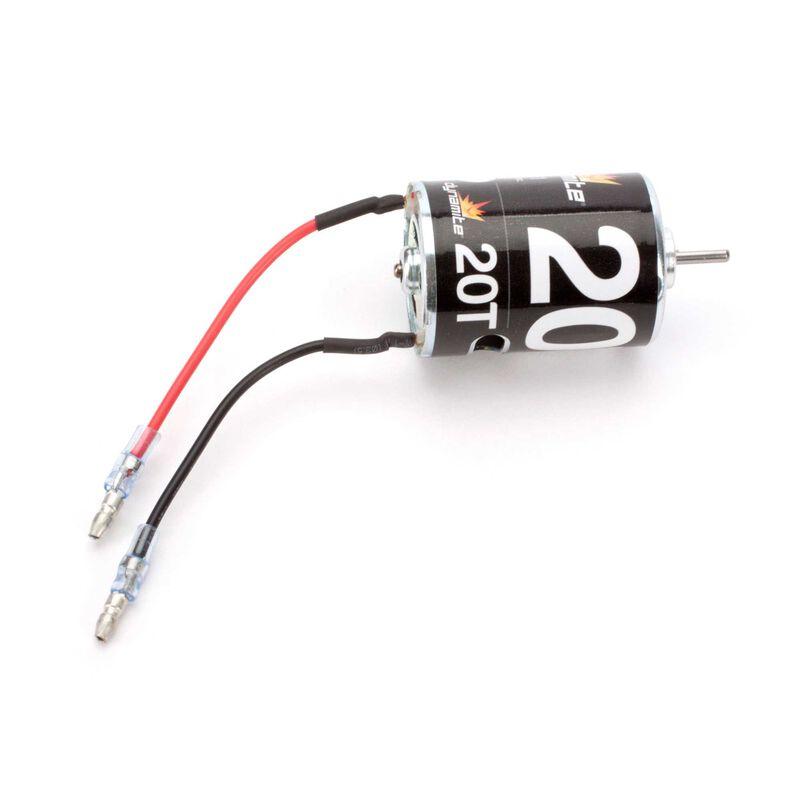 20-Turn Brushed Motor
