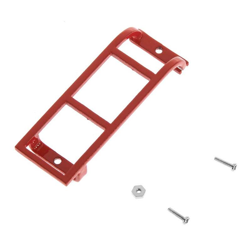 Rear Ladder, Red: 1/18 Gelande D90