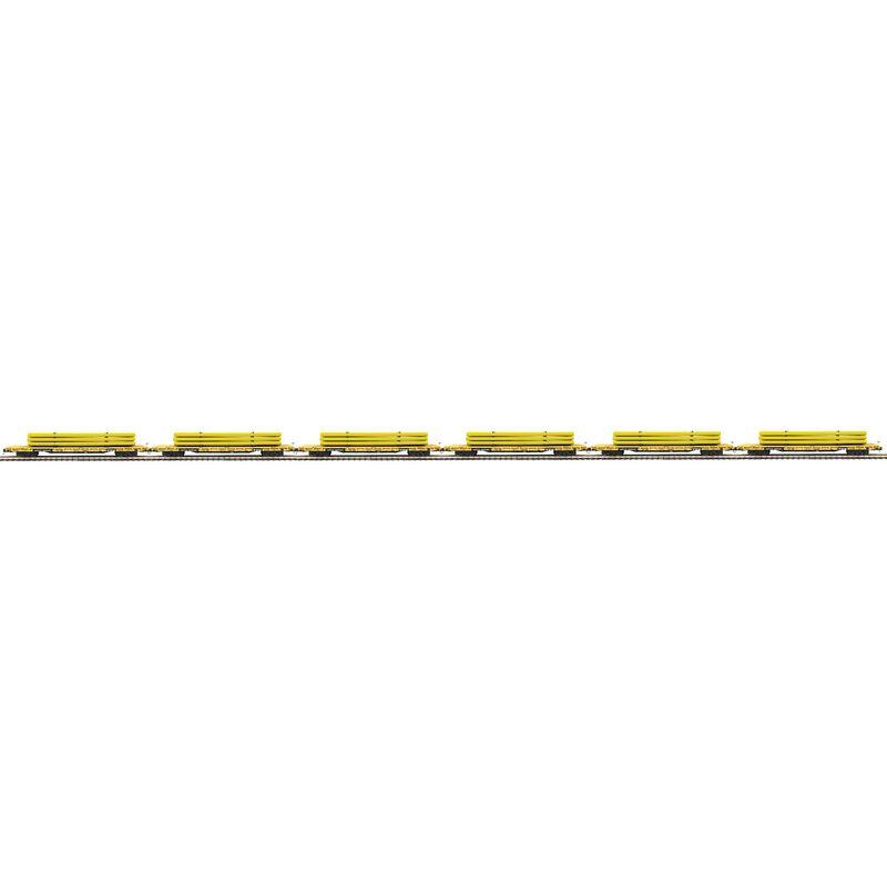 O 60' Flat w Pipe Load TTX #93270 (6)