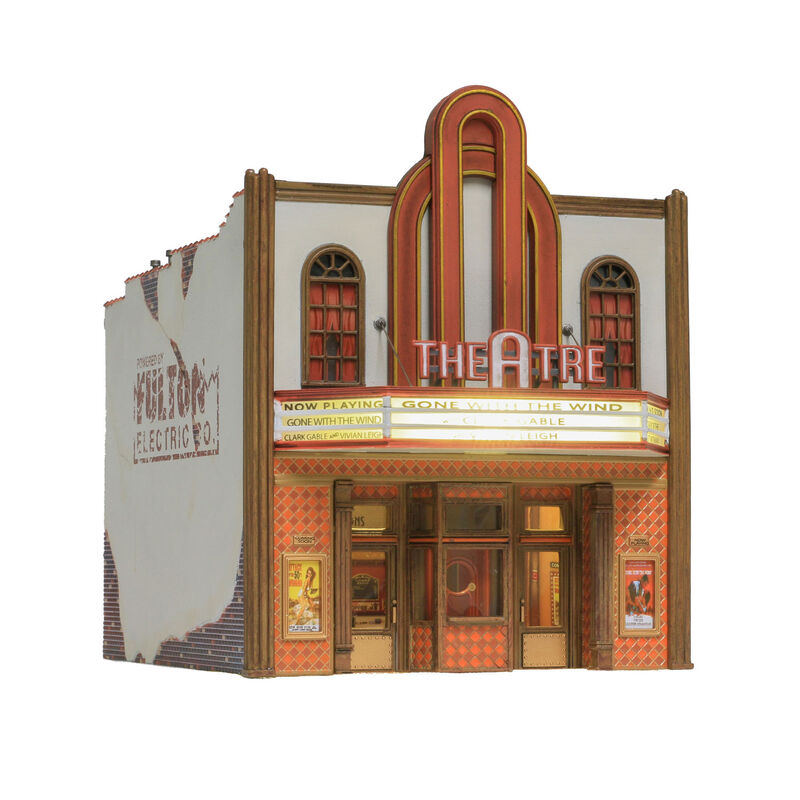 HO Built-Up Theater