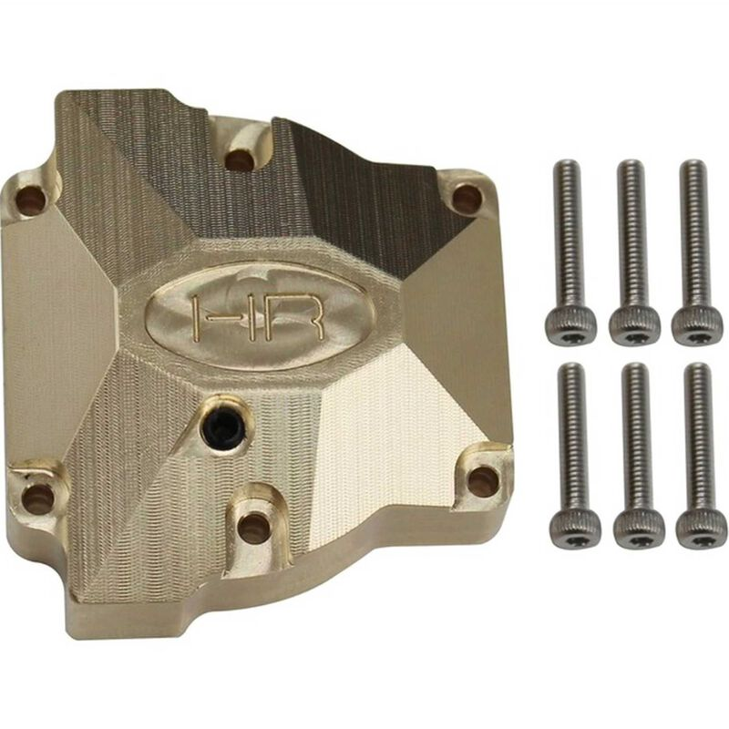 Heavy Brass Differential Cover: Redcat Gen8