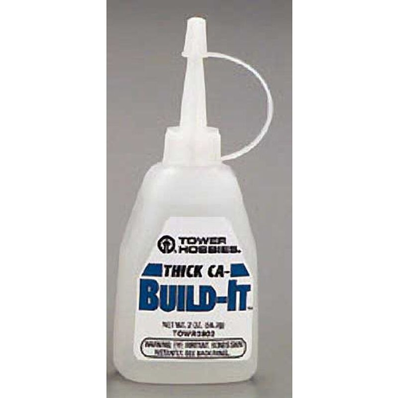 Build-It CA- Thick Glue 2 oz.