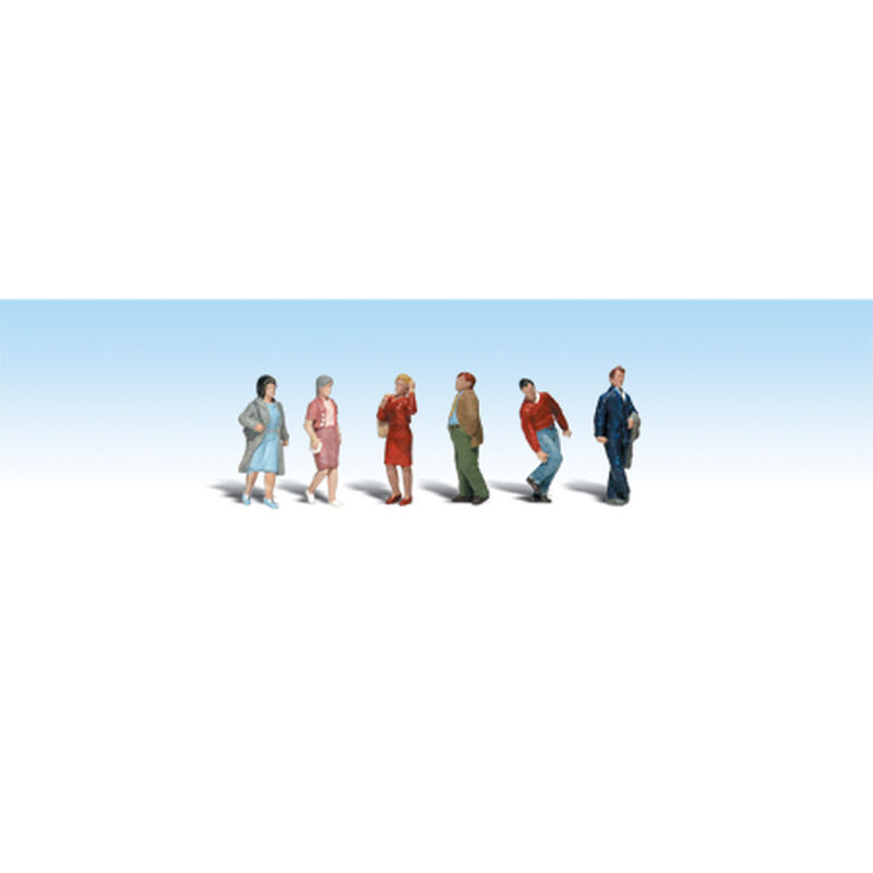 HO People Walking