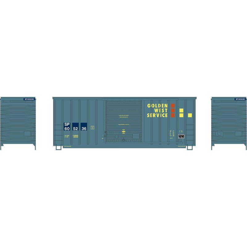 HO 40' High Cube Outside Braced Box,SP/GWS #605236