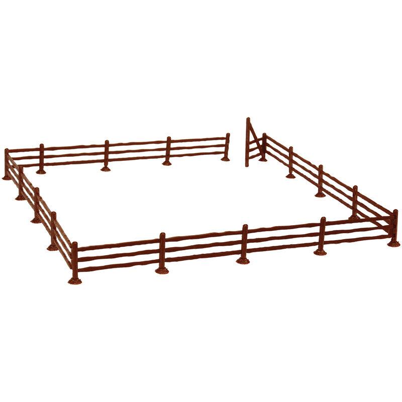 "HO Rustic Fence & Gate, 72"""