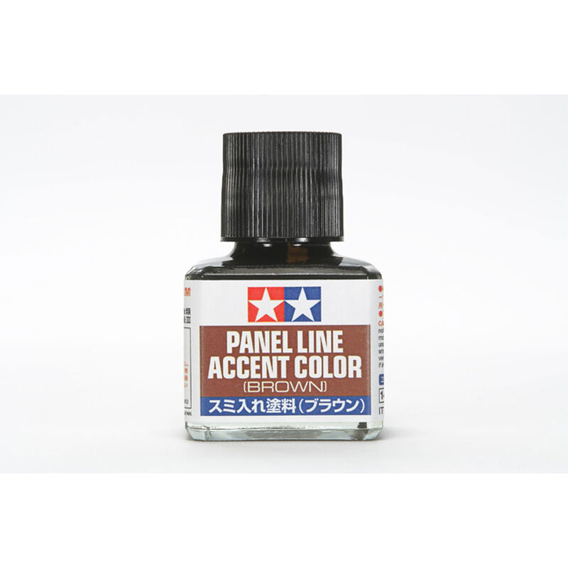 Panel Line Accent Color, 40ml Brown