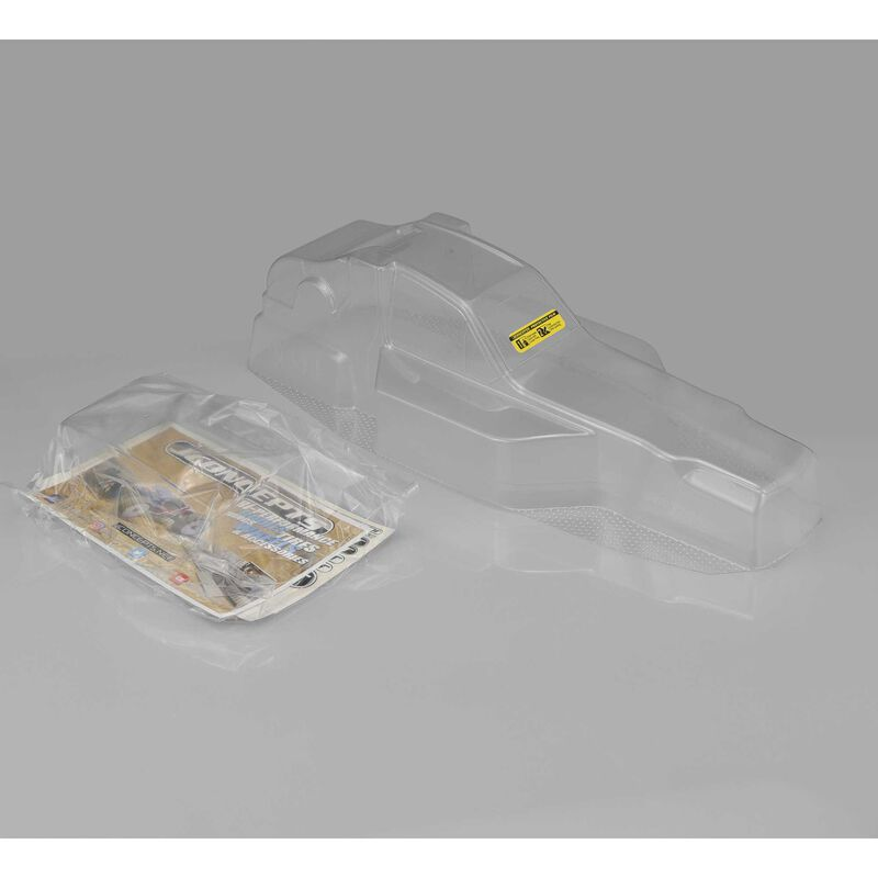 """Protector Clear Body with 5.5"""" Wing, RC10"""