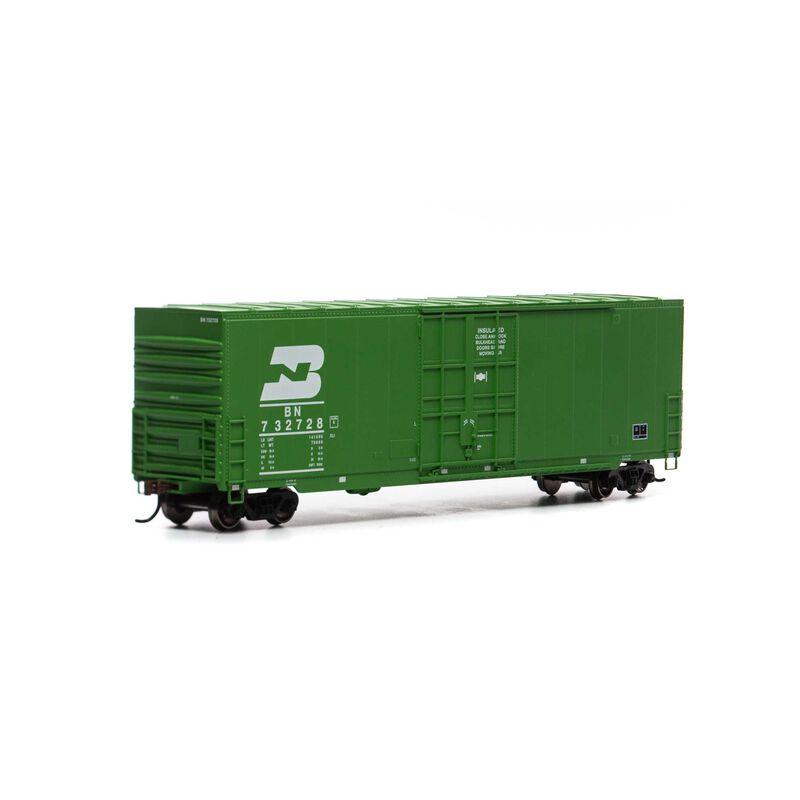 HO 50' Smooth High Cube Plug Box, BN/Late #732728