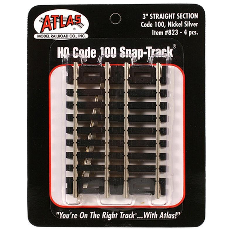 """HO Code 100 3"""" Straight (4)"""