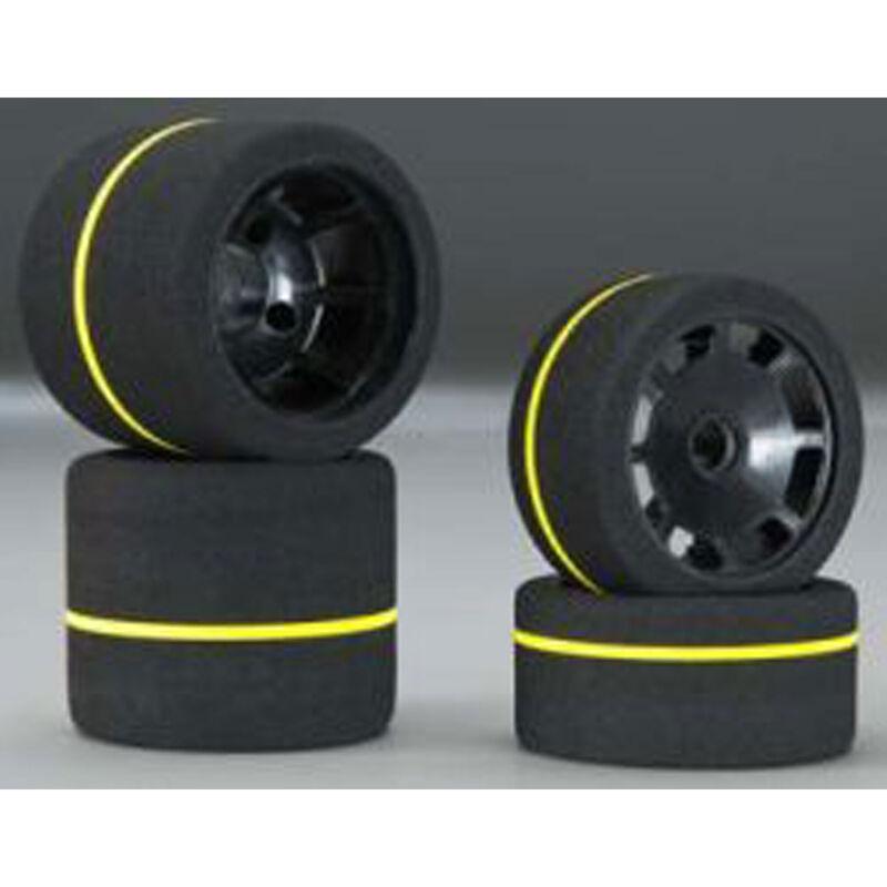 1/10 Spec Combo Tires (4) White