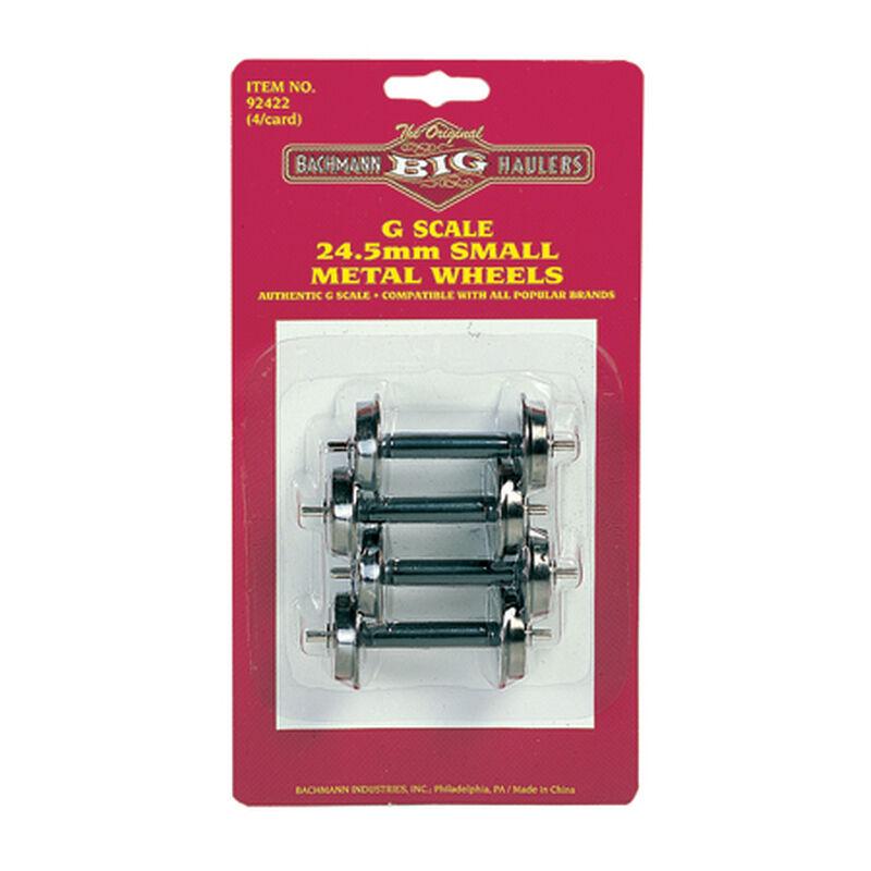 G Small Metal Wheel Set, 24.5 mm (4)