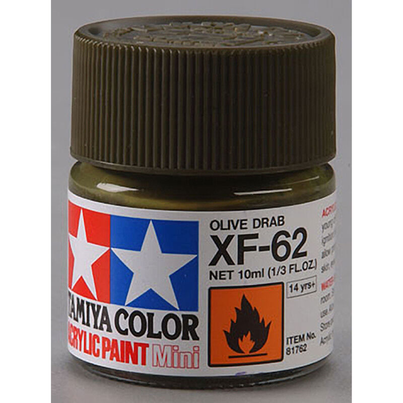 Acrylic Mini XF62, Olive Drab