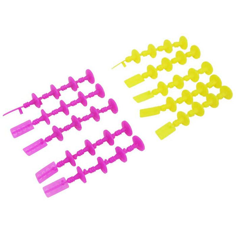 1 2A6 A8 B4 B6 C6 E12 Starter Plugs (5 Mag 5 Grn