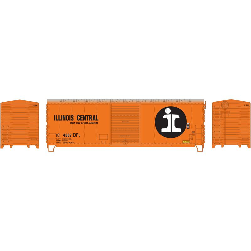 HO RTR 40' Modernized Box IC #4007