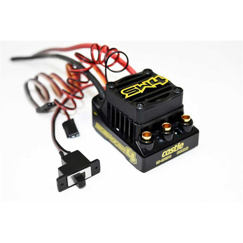 SW4 12.6V 2A BEC WP SL ESC 1410-3800 5mm Sens Mt