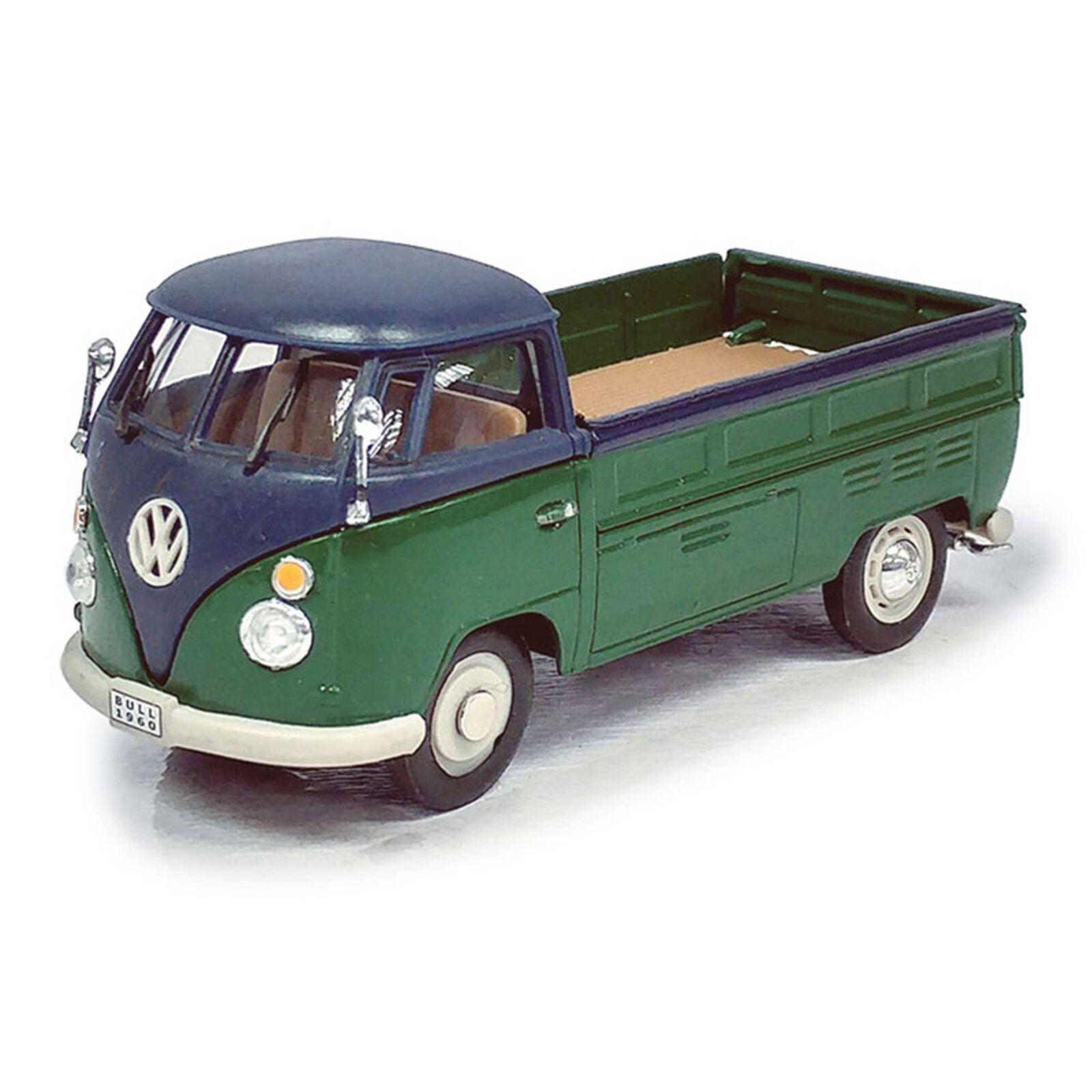 Cararama 1 43 VW T1 Pickup, Green