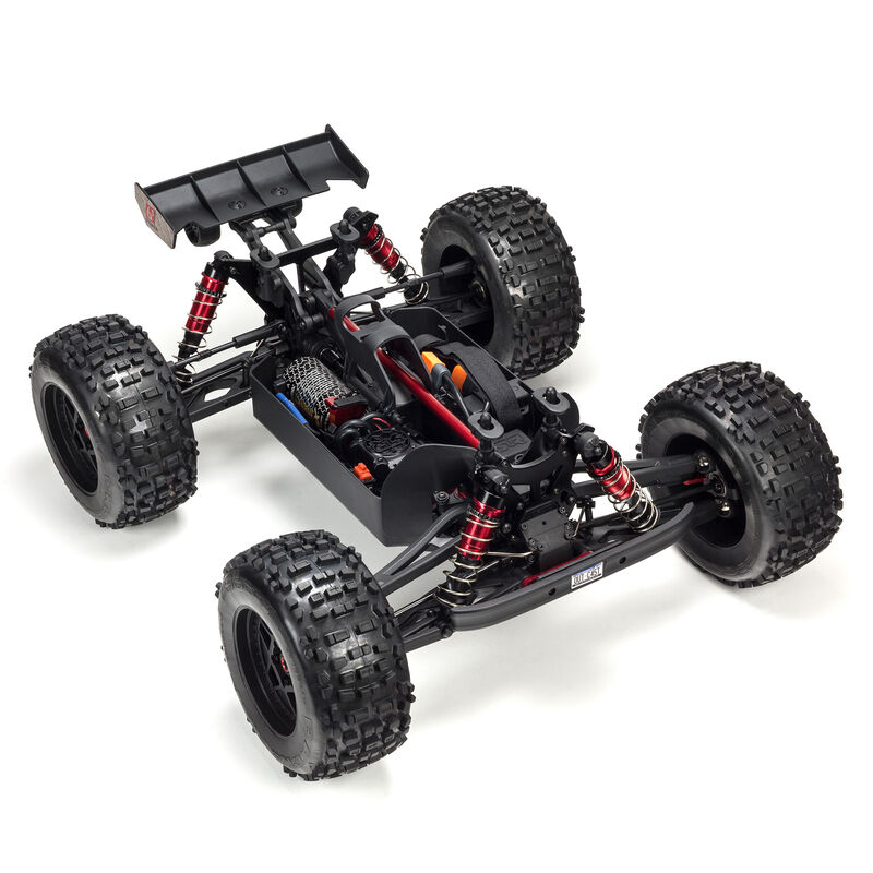 1/8 OUTCAST 6S BLX 4WD Brushless Stunt Truck with Spektrum RTR, Silver