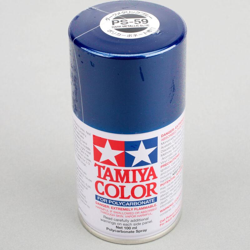 Polycarbonate PS-59 Dark Metallic Blue, Spray 100 ml