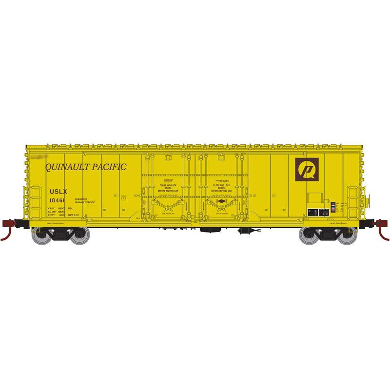 HO RTR 50' Evans DD Plug Box USLX Q Pacific #10461