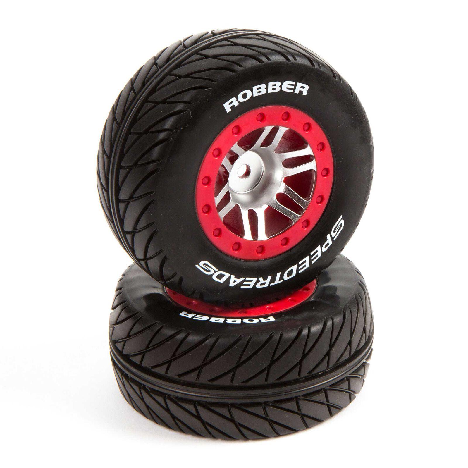 SpeedTreads Robber SC Front Rear Mounted (2): Slash/Rustler, ECX 4X4