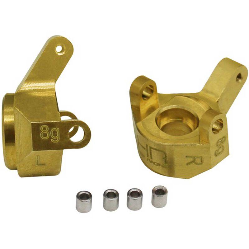 Brass Front Steering Knuckle: SCX24