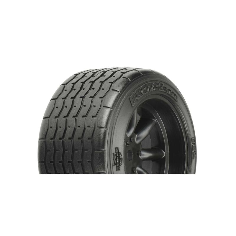 VTA Rear Tire 31mm Mounted Black Wheel