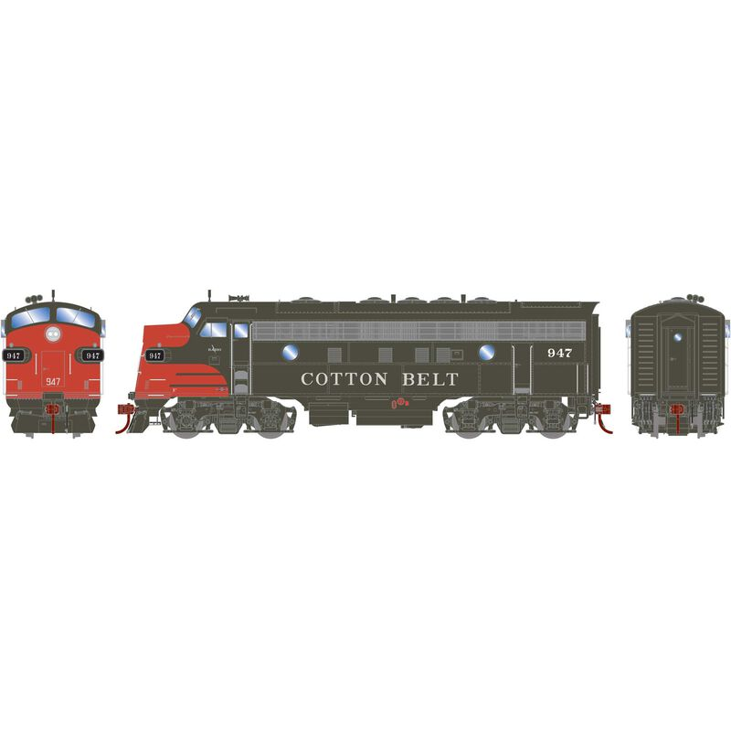 HO F7A with DCC & Sound SSW #947