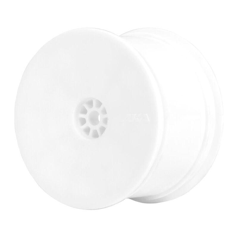 1/10 HEXlite Rear Wheel, White: Buggy (2)