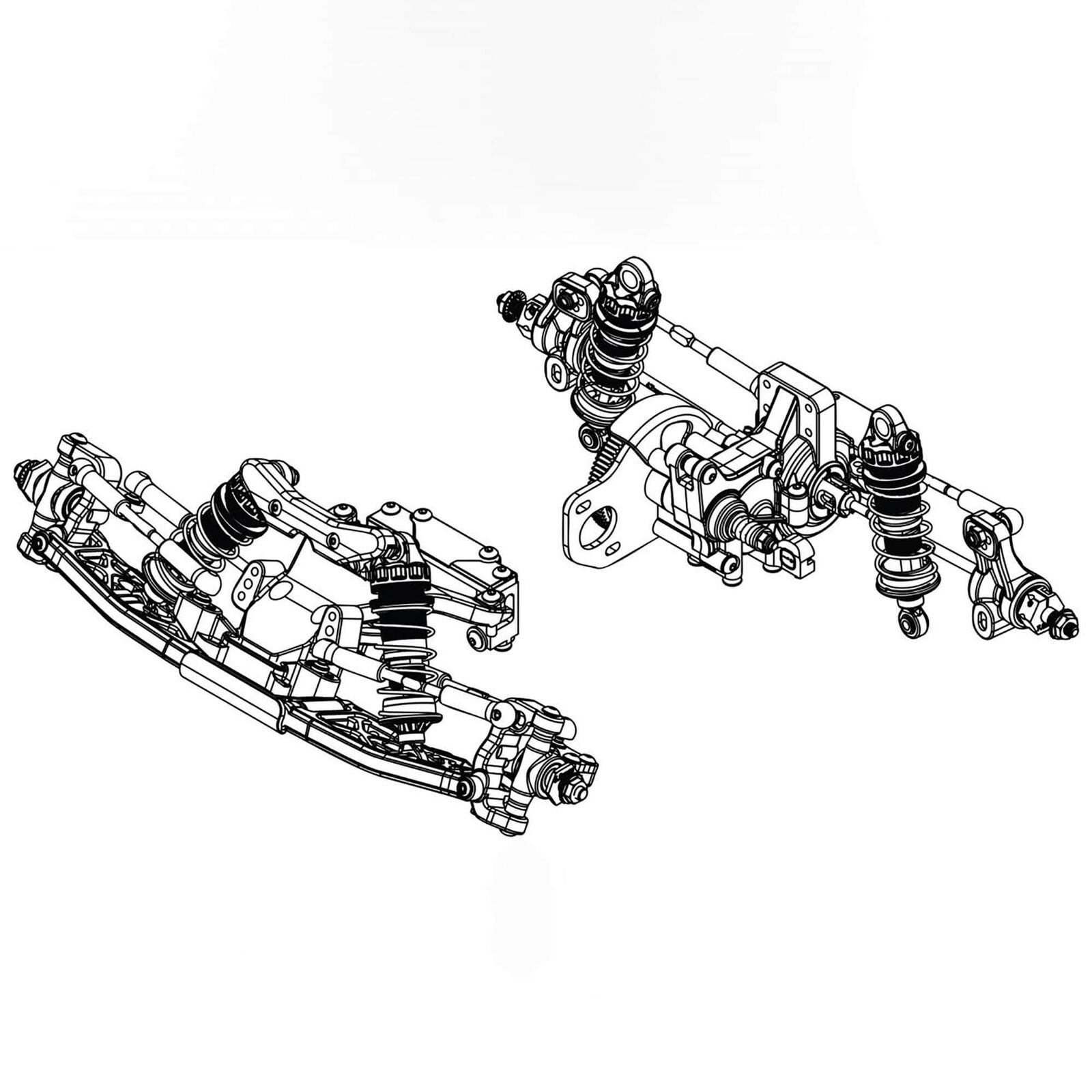 1/10 2WD RC10B6 Builders Support Kit