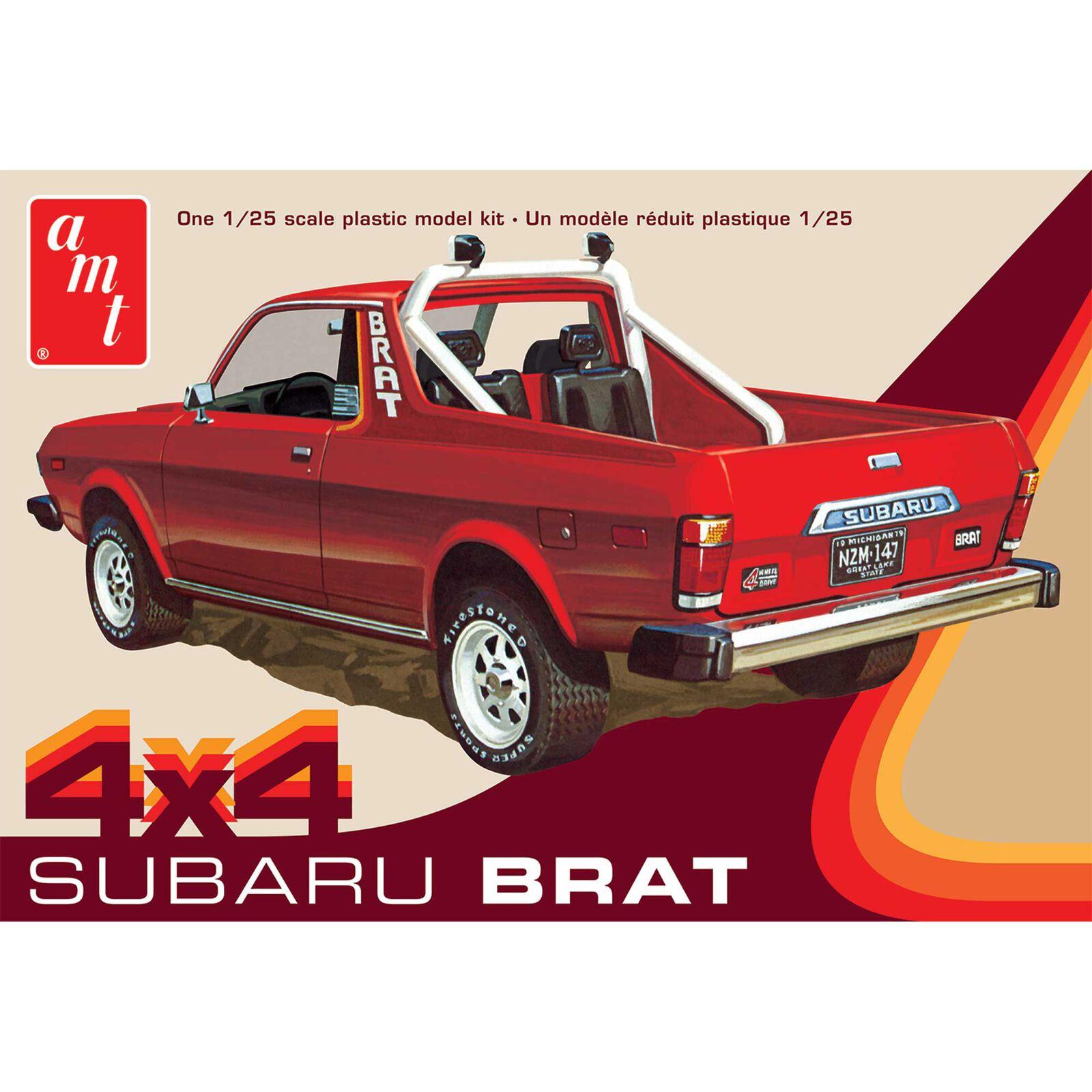 1/25 1978 Subaru Brat Pickup Model Kit