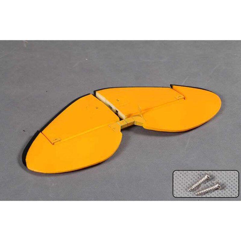 Horizontal Stabilizer: Waco Yellow