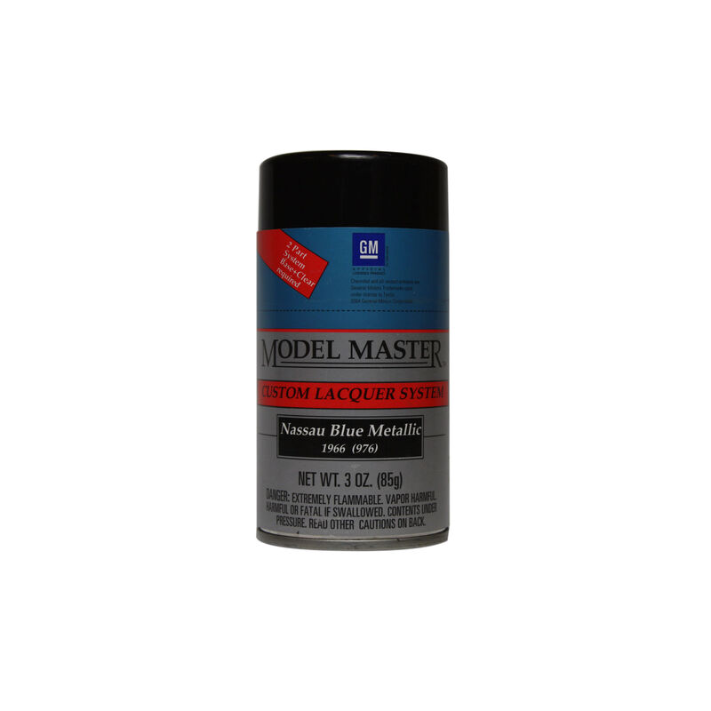 Nassau Blue Metallic, 3oz Spray