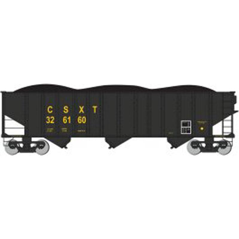HO 100-Ton 3-Bay Hopper CSX #326160
